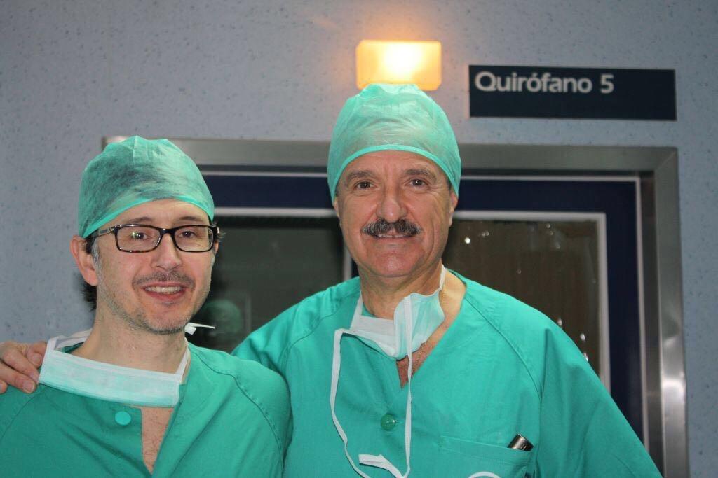 Los Doctores Vilaça y Gluckmann