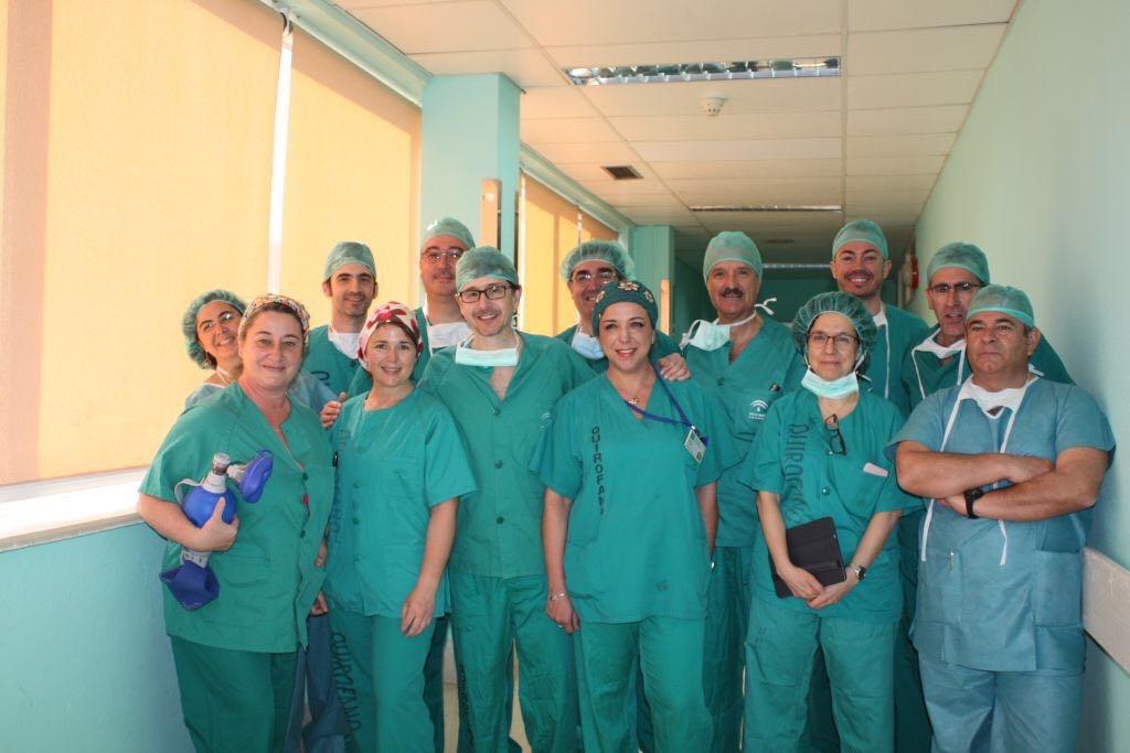 Grupo de asistentes y colaboradores al I Mastercourse